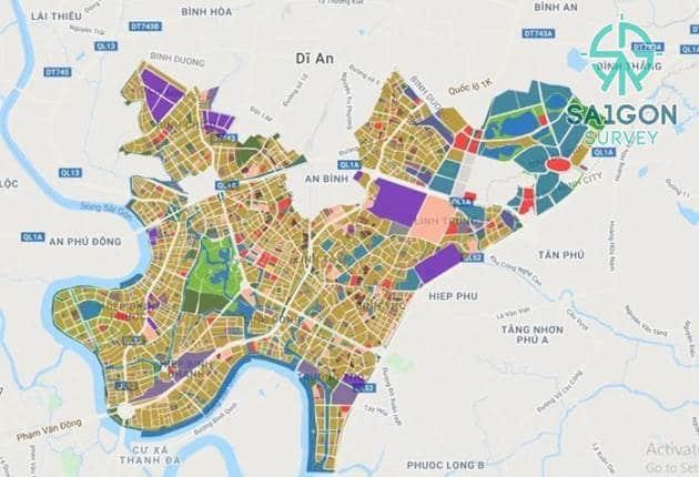 Bản đồ quy hoạch